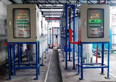 PLC softener Philippin site 400x284 - 수처리, 화학 및 기계 전기 프로젝트