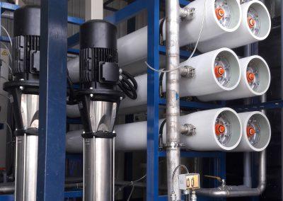 RO for cooling system 1 400x284 - 수처리, 화학 및 기계 전기 프로젝트