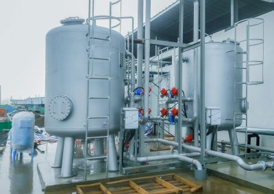 Sand Active carbon filter 1 400x284 - 수처리, 화학 및 기계 전기 프로젝트