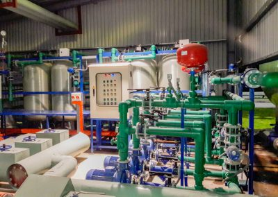 Ultra pure water 1 400x284 - 수처리, 화학 및 기계 전기 프로젝트