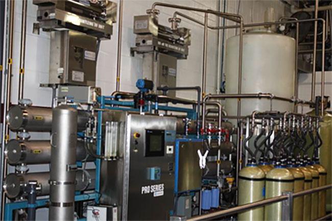 Lọc RO + Polisher Resin + UV cho bo mạch điện tử