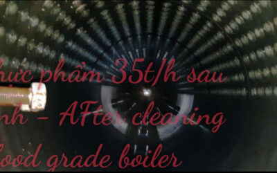 Cleaning boiler and other industrial equipments