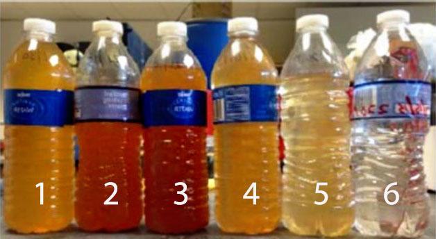 Quy trình xử lý nước gồm 6 bước