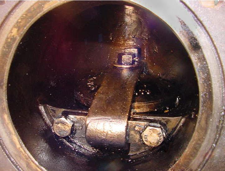 Kết quả sau khi vệ sinh thiết bị trao đổi nhiệt dầu