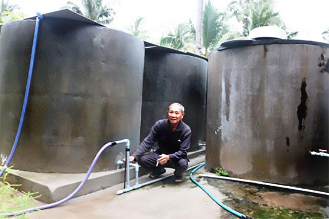 Lu chứa, bồn trữ nước mưa, nước ngọt (ảnh 2)