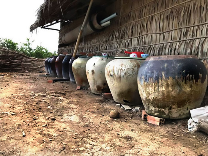 Lu chứa, bồn trữ nước mưa, nước ngọt (ảnh 1)