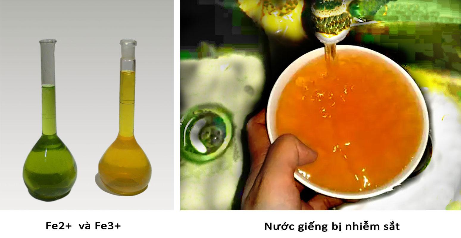 Hình ảnh minh họa nước bị nhiễm sắt và cần áp dụng các phương pháp xử lý nước ngầm