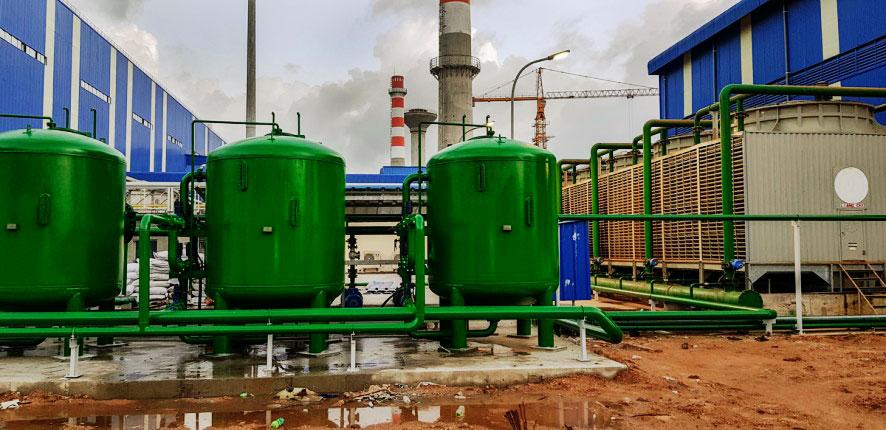 Công ty Hợp Nhất đã thi công hệ thống lọc cát cho tháp giải nhiệt nhà máy thép, mang lại hiệu quả cao