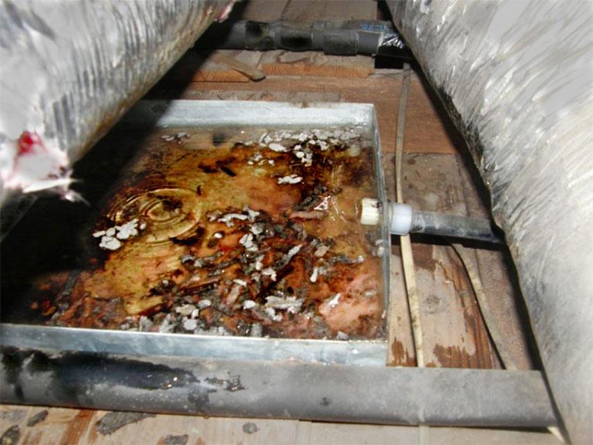 Máng thu nước dùng và không dùng viên AHU-FCU-7014 (hình 2)