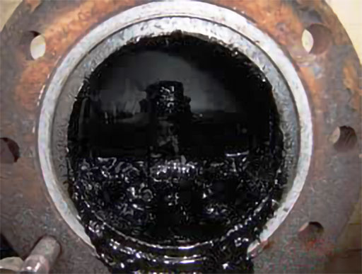 grease-and-lubricating-oil-has-degraded-clinging-to-heat-exchangers-causing-unsightly-and-affecting-performance