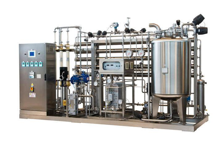 Ultra pure water treatment for pharmaceutical production